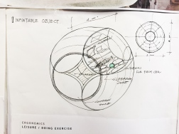 The drawing of the inflatable object